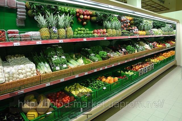 Овощные, охлаждаемый Прилавок- витрина, из Стекла оптом