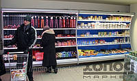 Витрина холодильная пристенная Медуза (для пресервов)