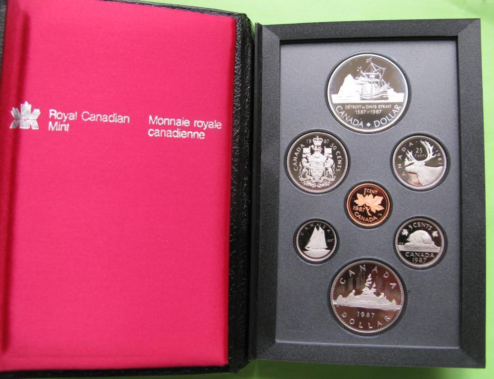 Канада официальный набор пруф 1987 г.