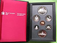 Канада официальный набор пруф 1987 г., фото 1