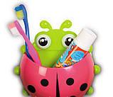 Органайзер для ванной детский Божья коровка, фото 9