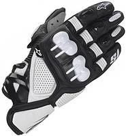 Мотоперчатки Alpinestars S-1 Black White S