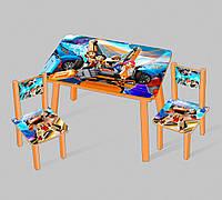 """Столик мини """"Тобот"""" С 089 (60*46 см), столик + 2 стула"""