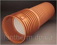 Труба гофрированная ПП SN8 К2-Кан 300х6000
