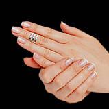 Серебряное фаланговое кольцо, фото 2