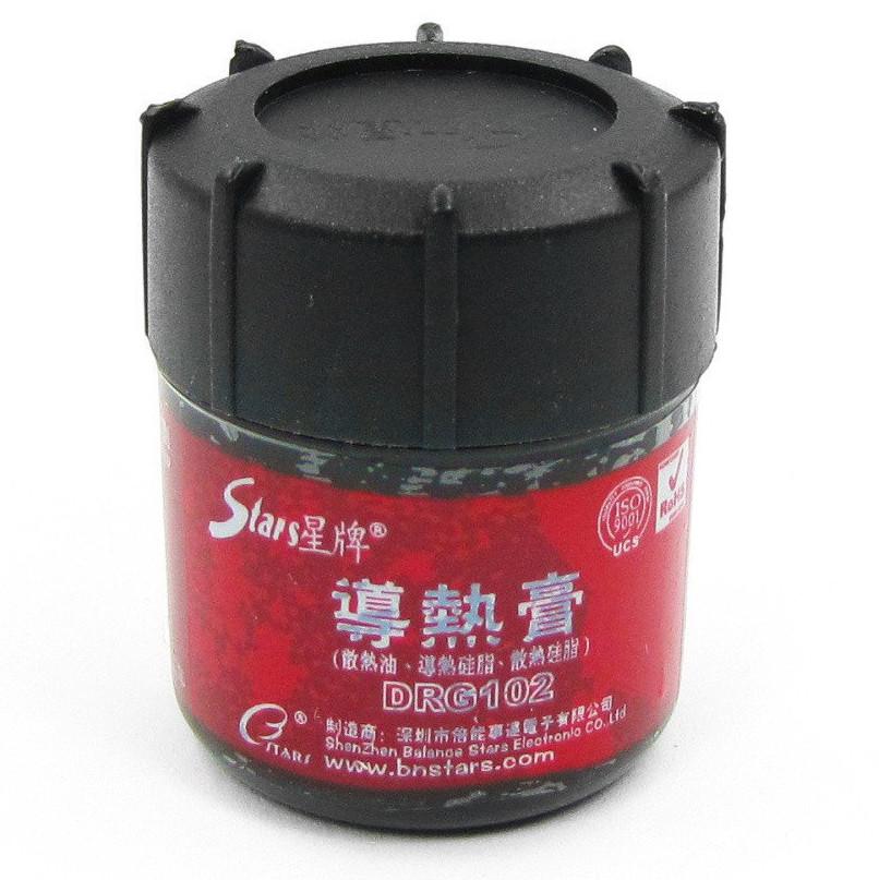 Теплопроводящая паста DRG102 >0,965W/m.k баночка 30г.