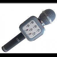 Беспроводной микрофон караоке блютуз WS1818 Bluetooth Чёрный