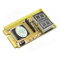 Mini PCI PCI-E LPC POST анализатор тестер ноутбука