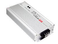 Блок питания Mean Well HEP-600-54 В корпусе с ККМ 604,8 Вт, 54 В, 11,2 А (DC/AC Преобразователь)