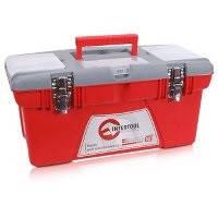 """Ящик для инструментов с металлическими замками, 18"""" 480x250x230мм Intertool BX-0518"""