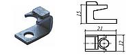 Контакт силовой неподвижный к пускателю электромагнитному ПМА-6 медь в гальванопокрытии