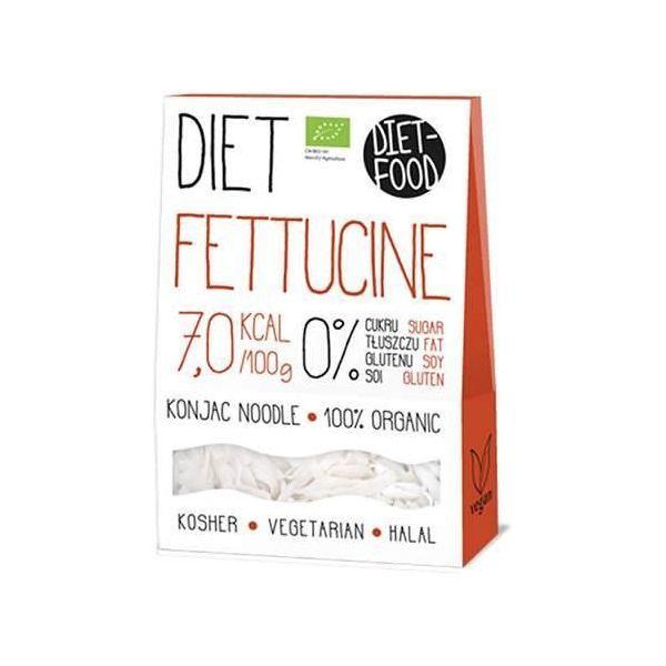 Лапша ширатаки фетучини  Diet Food Bio  Diet Fettuccine (300g)