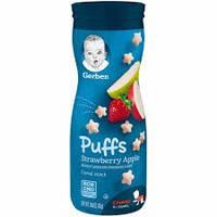 Первые печеньки для малышей Puffs от Gerber Яблоко-клубника