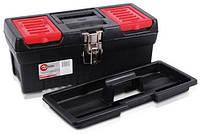 """Ящик для инструментов с металлическими замками, 13"""" 330x177x135мм Intertool BX-1013"""
