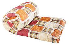 Одеяло полуторное синтепон 150х210см
