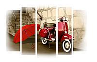 Модульная картина Декор Карпаты 120х80 см (M5-509)
