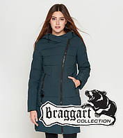 Braggart Youth | Теплая женская куртка 25035 бирюза, фото 1