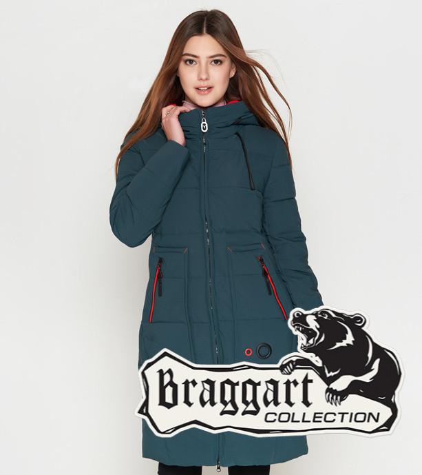 Braggart Youth | Женская теплая куртка 25055 бирюза