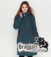 Braggart Youth | Женская теплая куртка 25055 бирюза, фото 1