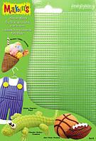 Makins Набор текстурных листов (4 шт.) - Комплект В - полоски, клетки, экран, точки