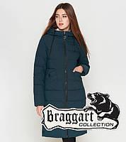 Braggart Youth   Женская теплая куртка 25245 бирюза, фото 1