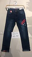 Детские осенние джинсы оптом для мальчиков Seagull,разм 116-146 см
