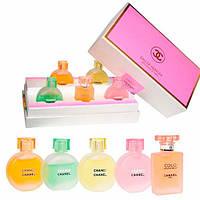 Подарочный набор  Eau De Parfum-Suit 5 в 1 (в ящике 72 шт).