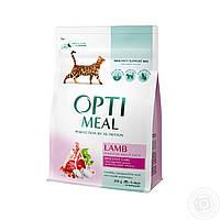 Optimeal Lamb 10 кг - корм для кошек с ягненком с чувствительным пищеварением