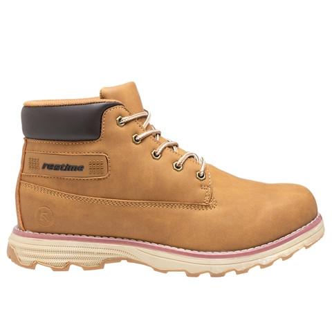 Зимние мужские ботинки Restime песочные, нубук