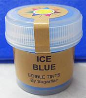 """Краситель пищевой сухой """"Голубой лед"""" 5мл Sugarflair"""