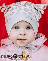 Детская шапка для девочек МАТИС оптом размер 44-46-48