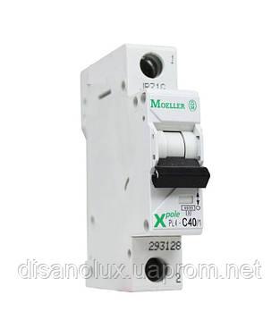Автоматический  выключатель  PL4-C40/1  40А MOELLER (EATON)