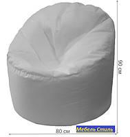 Пуф-мешок Пенек БМО14 белый 90х80, фото 2