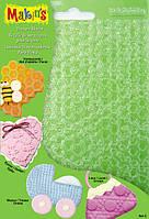 Makins Набор текстурных листов (4 шт.) - Комплект С - соты, волны, петля, кружево