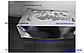 Картонная коробка для подарков с окошком серебро 25*17*8 см, фото 3