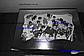 Картонная коробка для подарков с окошком серебро 25*17*8 см, фото 4