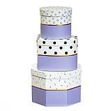 """Набор коробок """"Геометрия"""" (blue) (8014-002), фото 2"""