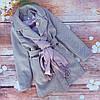 """Весеннее кашемировое пальто с шарфом  """"Марта"""""""