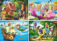 Пазлы для детей Любимые сказки на 120 элементов Сastorland