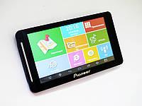 7'' Планшет-навигатор Pioneer G716 - GPS+ 4 Ядра+ 8Gb+ Android