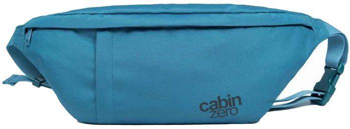 Сумка на пояс CabinZero Classic Hip Pack Aruba Blue, голубая