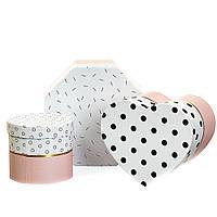 """Набор коробок """"Геометрия"""" (pink) (8014-001)"""