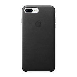 Шкіряний чохол Apple Leather Case Black для iPhone 7 Plus / 8 Plus
