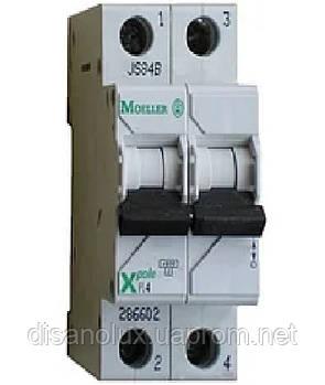 Автоматический  выключатель  PL4-C20/2  20А MOELLER (EATON)
