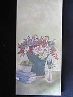 Картина декорована в технике декупаж, 31,5х14,5 см, 105\90 (цена за 1 шт.+15 грн), фото 1