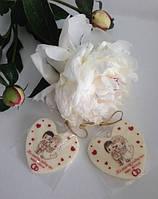 Оригинальные свадебные бонбоньерки в стиле Love is