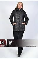 Женские пальто больших размеров оптом, дубленка женская большого размера, фото 1