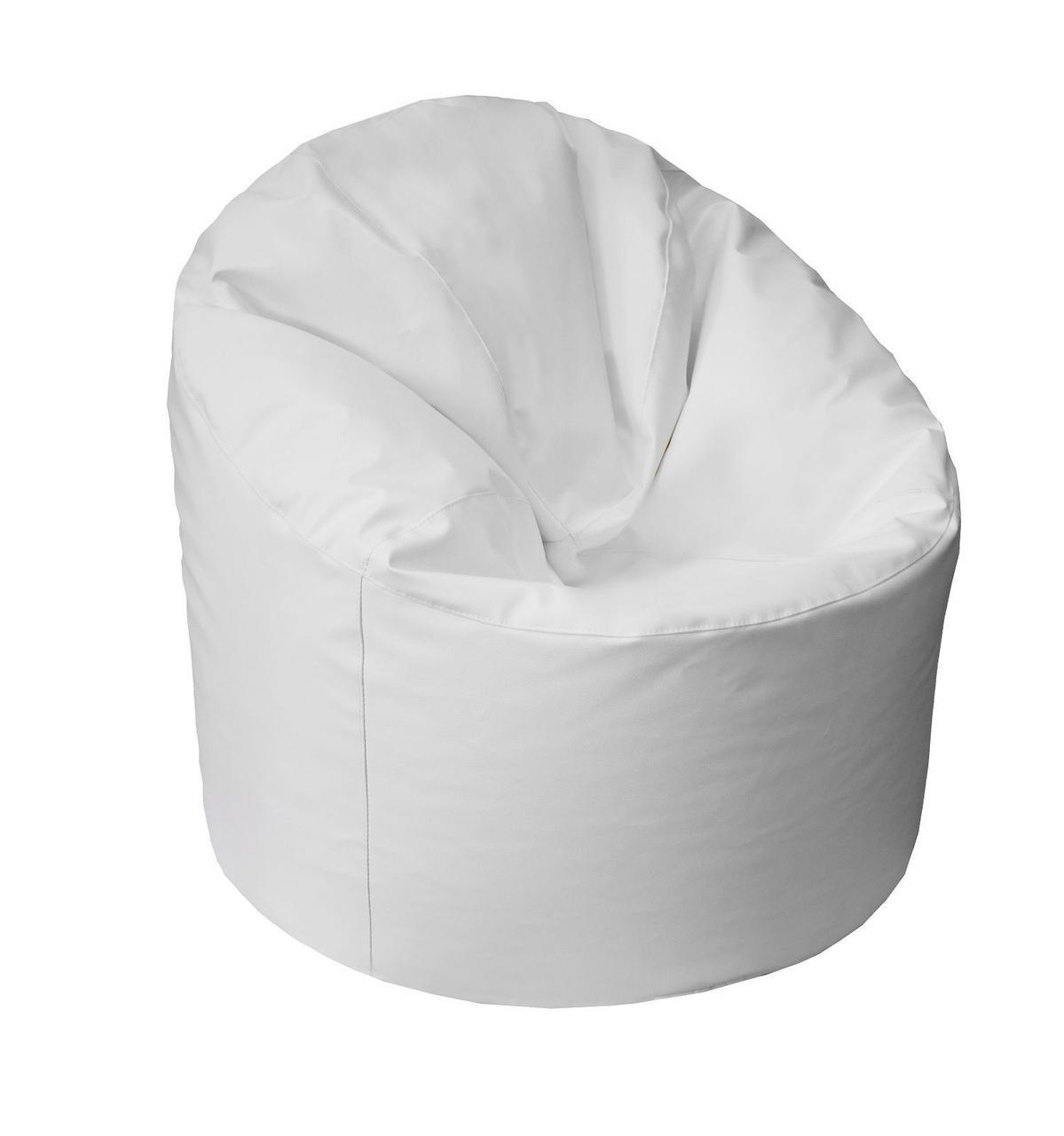 Пуф-мешок Пенек БМО14 белый 90х80