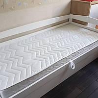 Кровать детская подростковая Нота плюс с подъемным механизмом, массив дуб, ясень, фото 1