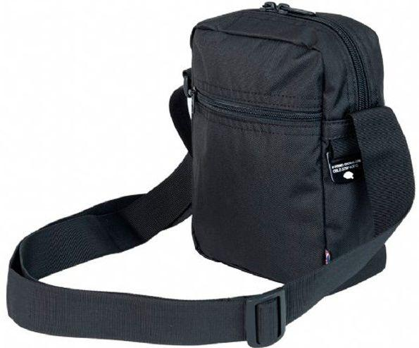 Чоловіча чорна сумка CabinZero Sidekick Absolute Black, поліестер